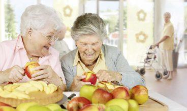 Decálogo para una alimentación saludable en las personas mayores