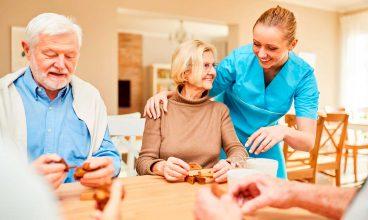 Actividades en los centros gerontológicos