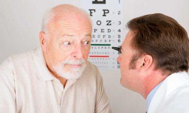 Problemas de visión en las personas mayores