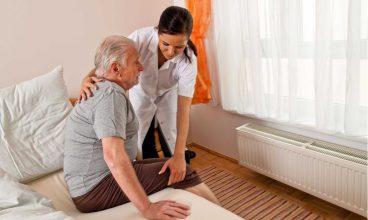 Cambios posturales en personas dependientes encamadas