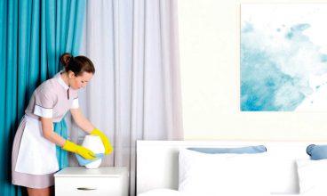 Limpieza de zonas privadas en las residencias: Las habitaciones