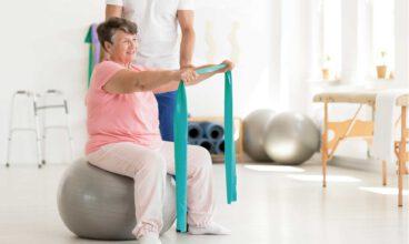 La fisioterapia en residencias de personas mayores