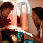 Estimulación sensorial a personas con discapacidad. Sala Snoezelen