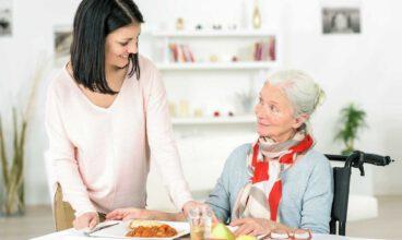 Distribución de los alimentos en la dieta de la persona con alzhéimer