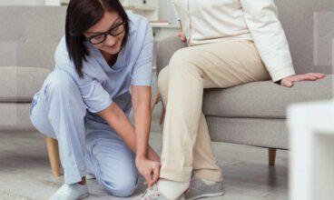 Beneficios del uso de un buen calzado en personas mayores