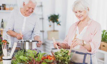 Alimentación en las personas mayores: Tipos de dietas