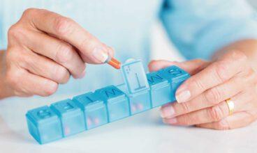 Cómo cumplir con las pautas de los medicamentos: Pastilleros
