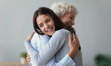 Cómo transmitir afecto a un familiar de una persona dependiente